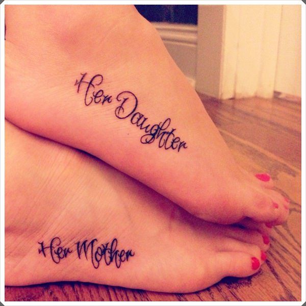her mother her daughter tattoo