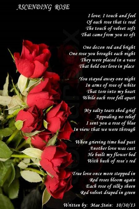 red rose poems