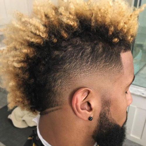 Odell Beckham Jr spiky haircut ideas for 2019