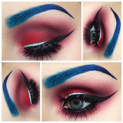 4th of July eye makeup ideas