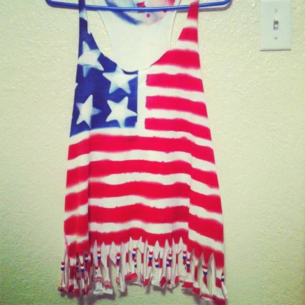 4th of July t-shirt ideas for girls