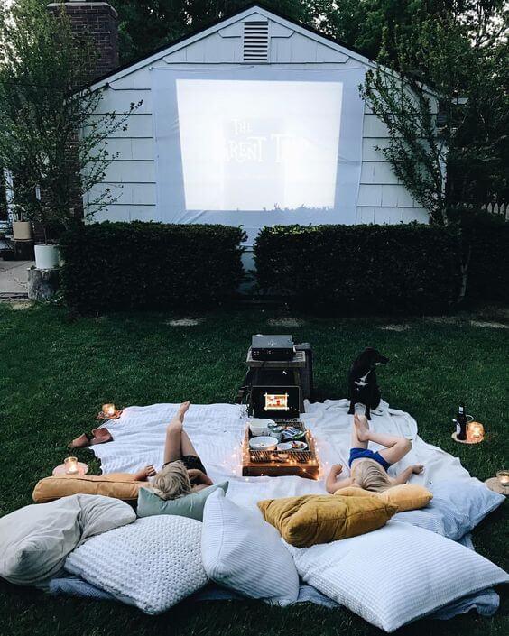 backyard movie theme ideas for summer
