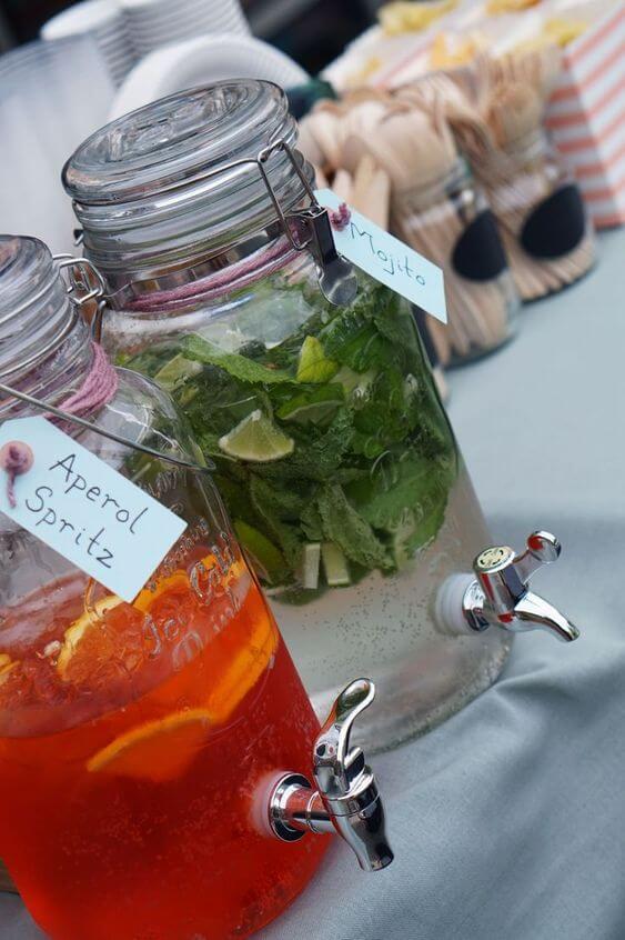 summer garden party cocktail-drinks ideas