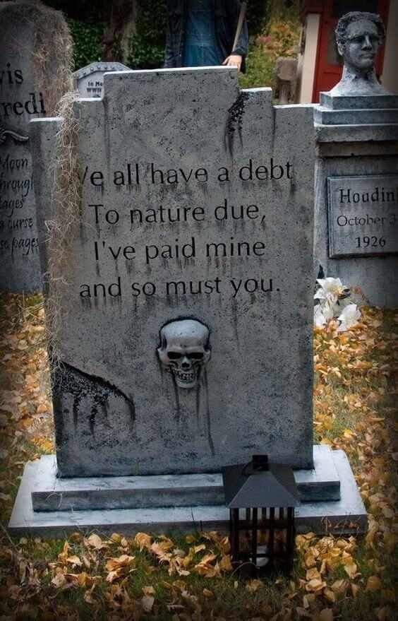 scary funny tombstones for halloween
