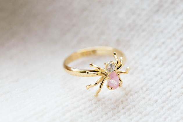 spider ring jewelry
