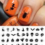 halloween nail art stickers