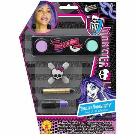 Monster High Spectra Vondergeist Makeup Kit Adult Halloween Accessory
