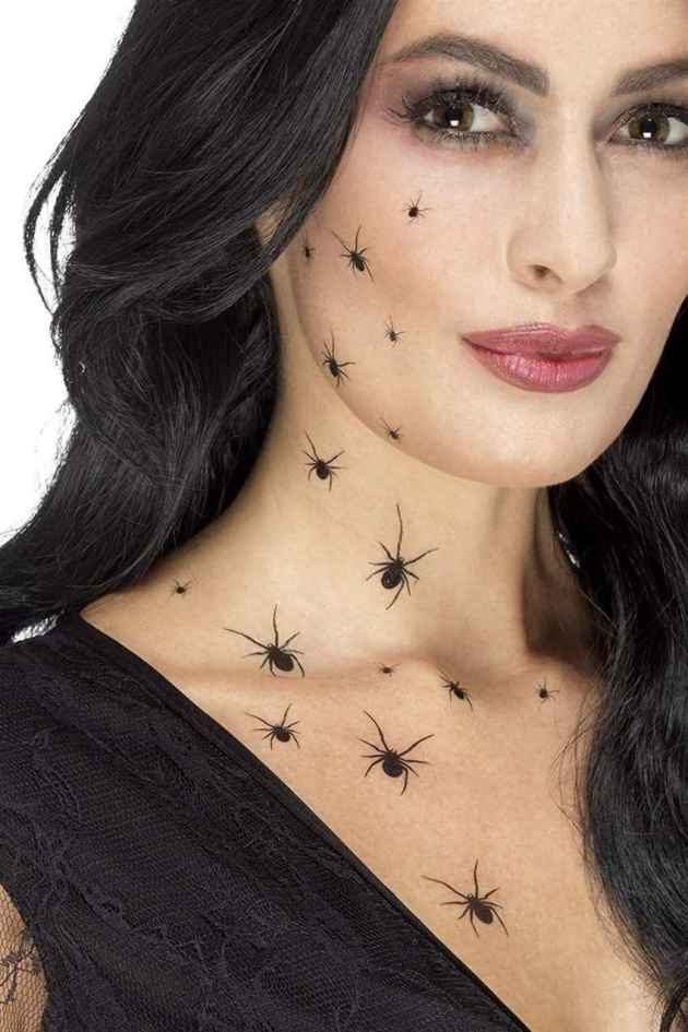 crawling spiders tattoo