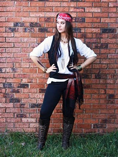 girl pirate costume ideas for halloween