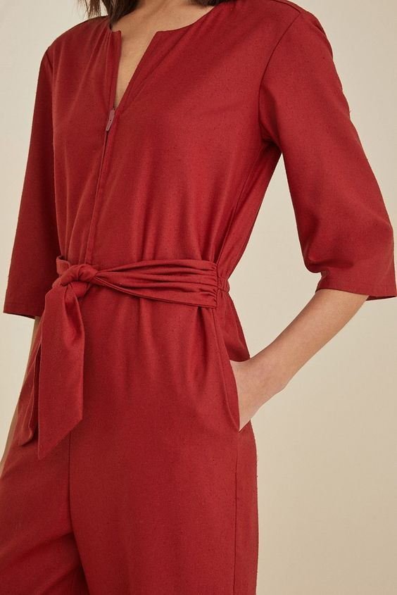 christmas maroon red jumpsuit ideas for girls