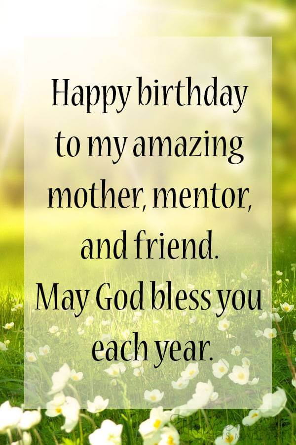best wishes for mom on birthday