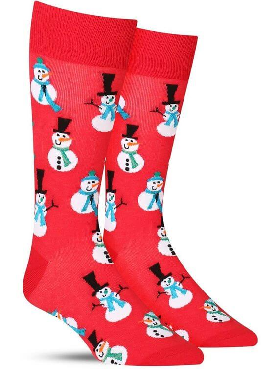 cute snowmen christmas socks