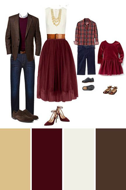 family christmas outfit ideas