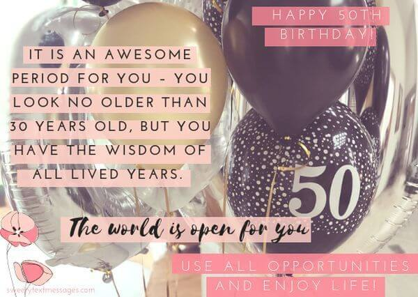happy 50th birthday quotes for mom
