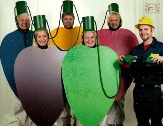 hilarious bad family diy christmas card photo ideas