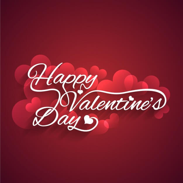 download free happy valentines day hearts image for card