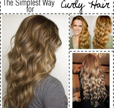 wavy hair spray diy