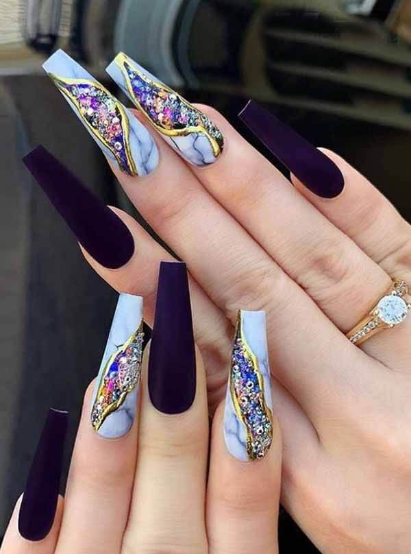 best long coffin nail designs 2020