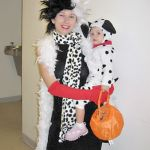 baby carrying halloween costume