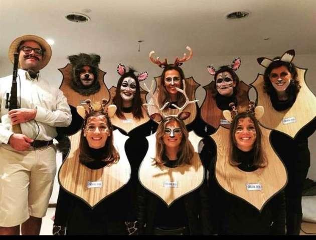 diy work group halloween costume ideas