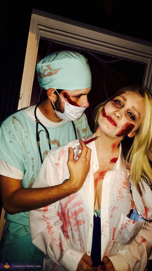 diy scary surgeon and doctor halloween costume ideas