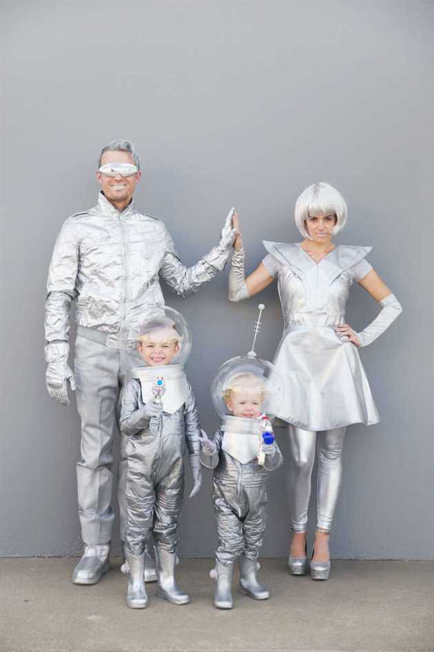 family space halloween costumes ideas