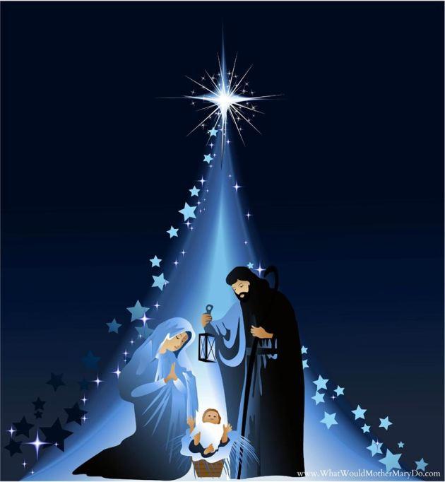 free religious merry christmas image