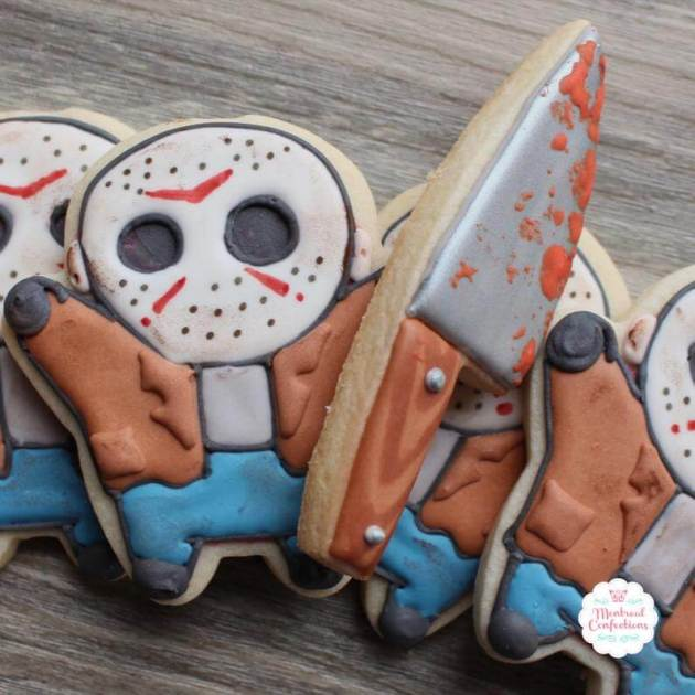 friday the 13th jason cookies designs for halloween