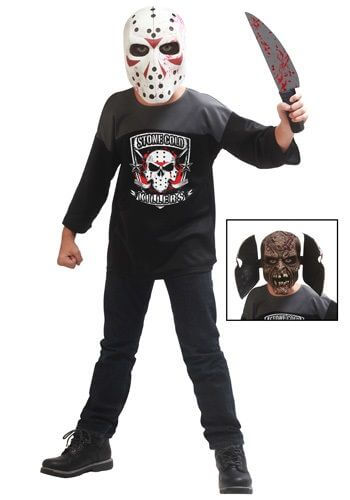 friday the 13th jason mask halloween costume ideas for kids