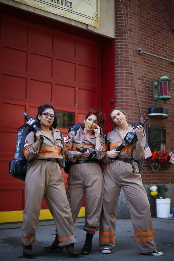 ghostbusters group halloween costumes for work