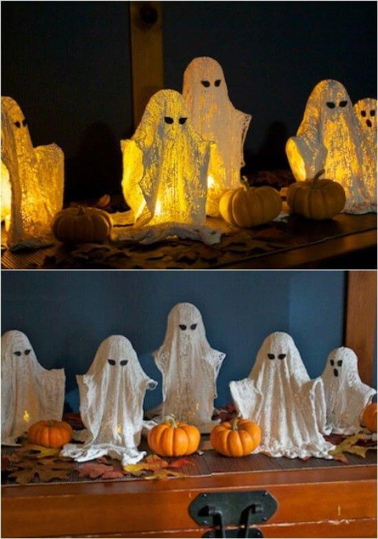 haunted mansion ghost decor ideas