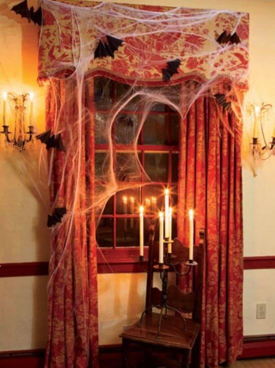 haunted mansion room windows indoor decoration ideas