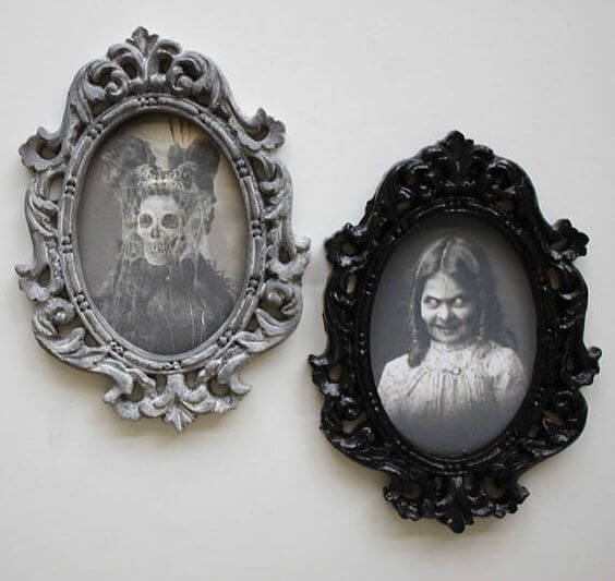 haunted mansion wall pictures decor ideas
