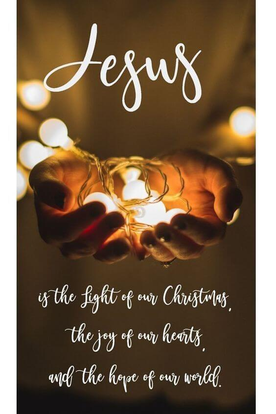 jesus quote for christmas