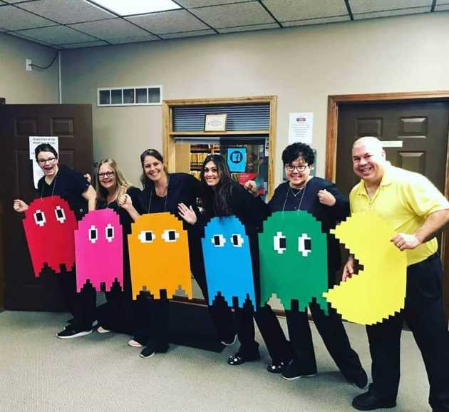 pac-man group halloween costumes for work