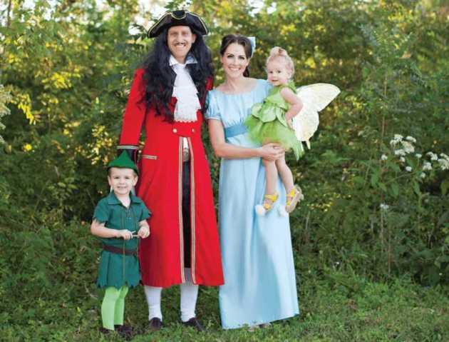 peter pan family halloween costumes ideas