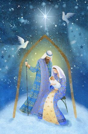 religious christmas painting image