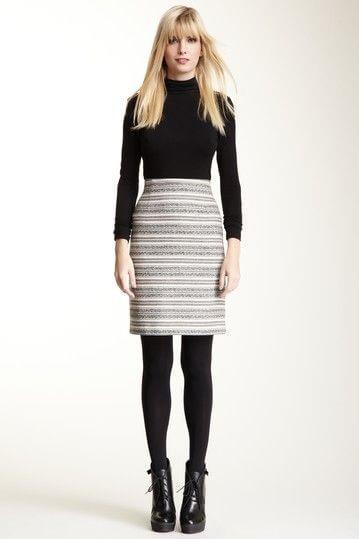 casual pencil skirt dress ideas for christmas