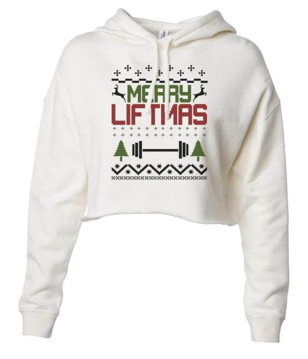 christmas casual crop top ideas for females