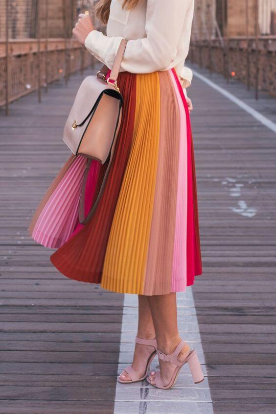 female casual long skirt dress ideas for christmas holidays