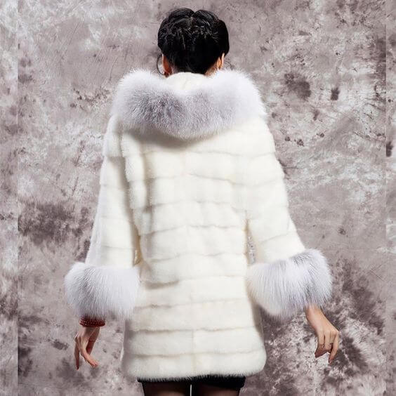 women's casual long hooded faux fur coat ideas for christmas