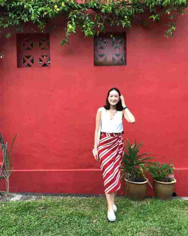 wrap skirt chinese new year dressing ideas for women