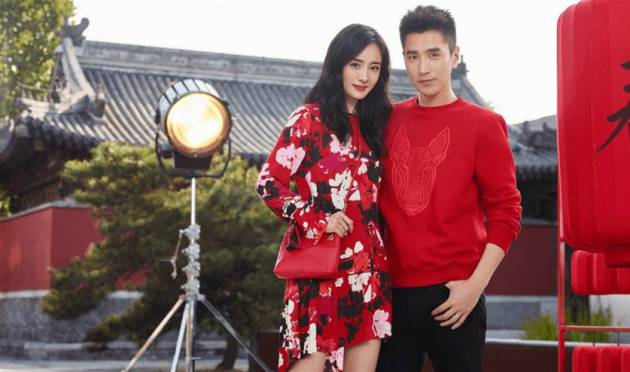 couples red outfit ideas for chinese new year