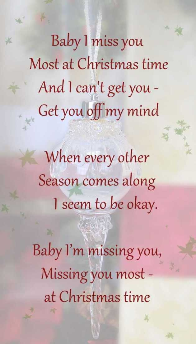 missing you at christmas poem for long distance relationship