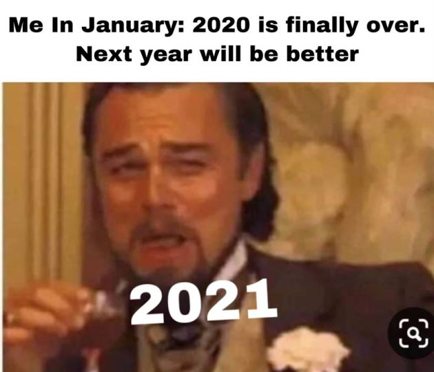 sarcastic funny happy new year 2021 meme