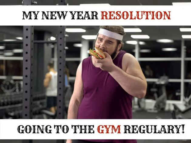 funny new year resolution meme