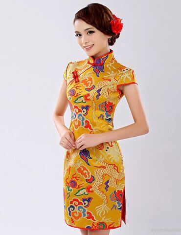 traditional cheongsam women dress ideas for chinese new year