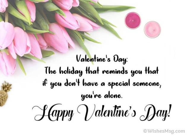 funny valentines day quote for friends