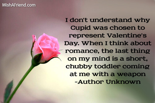 funny romantic valentines day message image