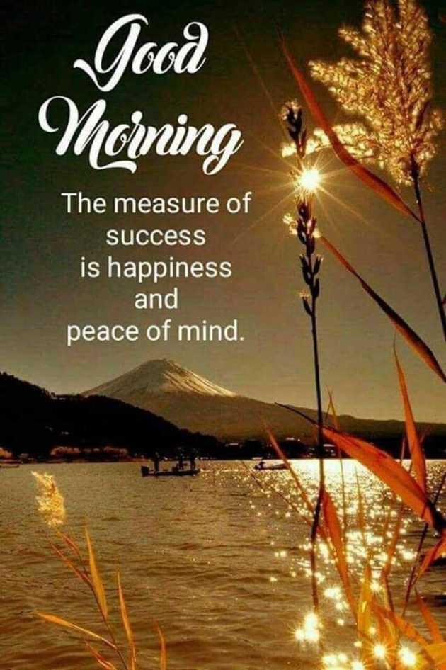positive good morning msg image